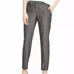 Banana Republic Grey Avery Crop Pants Size 0P